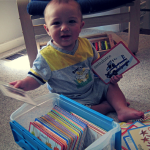 Teaching Babies to Read with Flashcards
