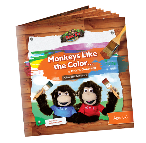 monkeys like the color book
