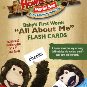 All About Me Flash Cards