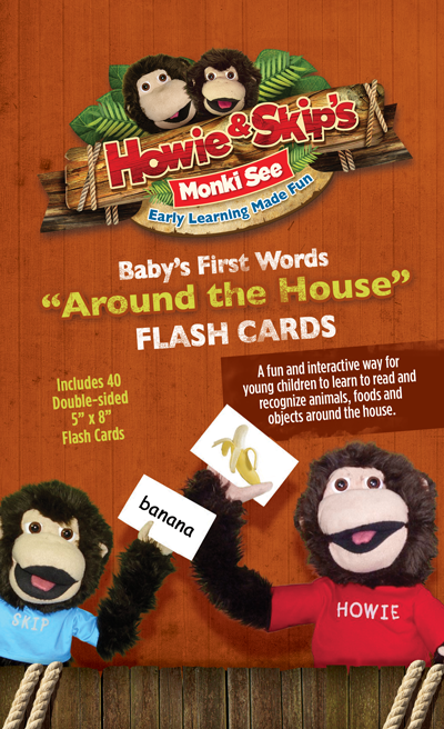 Around the House Flash Cards