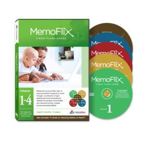 MemoFlix Flash Card DVD
